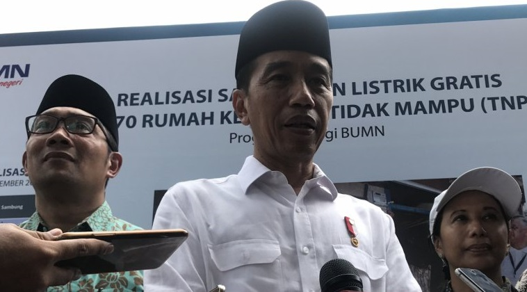 Presiden Joko Widodo (Jokowi) blusukan ke wilayah Cibatu df5a19089a